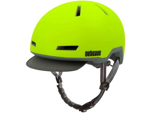 Nutcase Tracer - Casco de bicicleta - amarillo